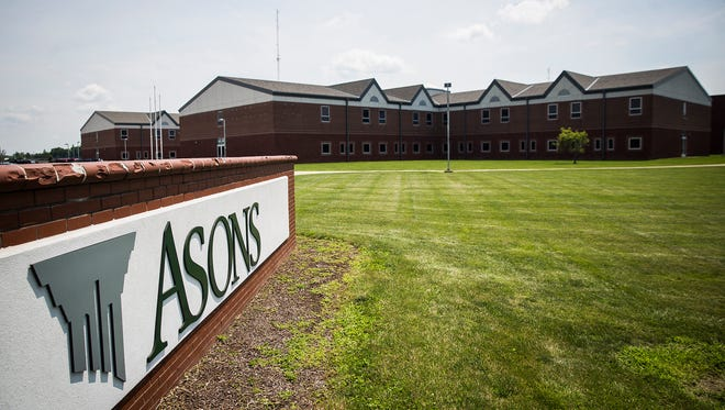 The exterior of ASONS headquarters, formerly Wilson Middle School, on Tillotson Avenue Wednesday morning. ASONS purchased the building for $2 million in 2015 and recently placed the property up for sale with plans to vacate the site.
