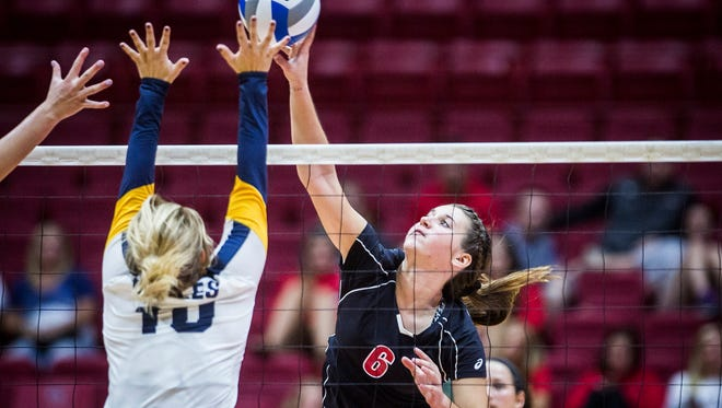 Delta faced off against Wapahani at Worthen Arena  Tuesday, Aug. 15, 2017.