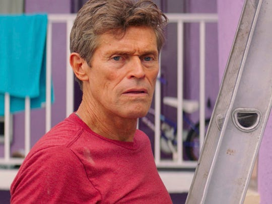 Willem Dafoe plays a gruff but big-hearted motel manager