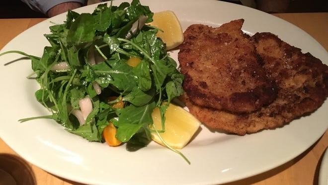 Pork Milanese at Mercato proves to be the perfect summer fare.