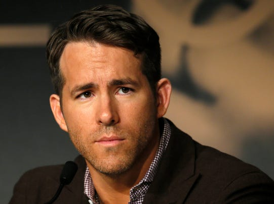 Ryan Reynolds in Cannes