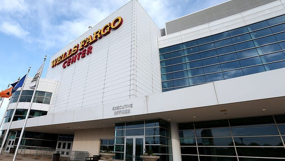 Wells Fargo Center sees its first regular season game