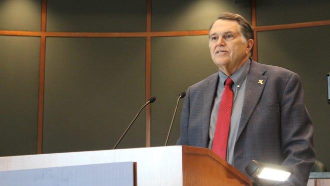 Douglas Rimmer announces his run for the state legislature representing District 8 in Bossier Parish