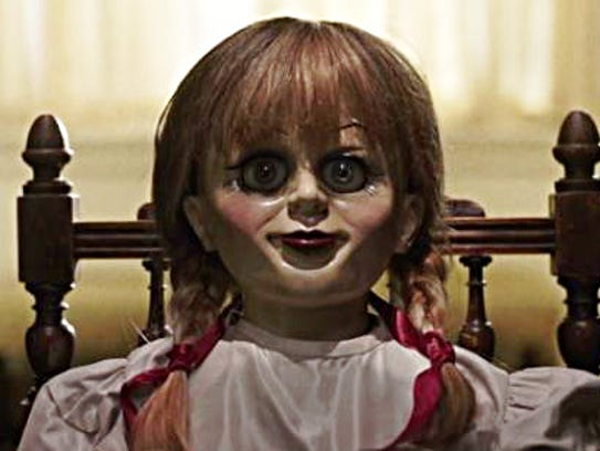 """Annabelle"" from ""Annabelle: Creation"" has eyes made"