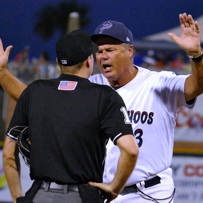 Blue Wahoos manager Pat Kelly, who is known for his