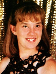 5-5-00 Here is a copy of a photo of Kelly Eckart a murder victim. The trial of Michael Dean Overstreet is underway in Johnson County. He is accused of killing Eckart. STAR STAFF COPY PHOTO BY VIC RYCKAERT.