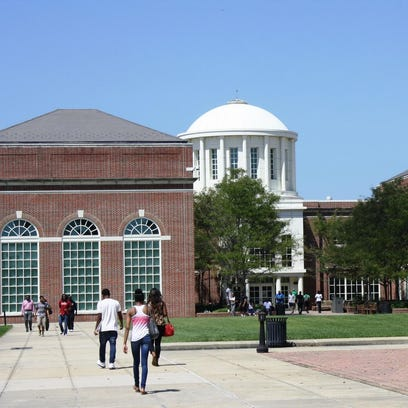 The campus of University of Maryland Eastern Shore
