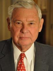 Former Florida Gov. and U.S. Sen. Bob Graham.