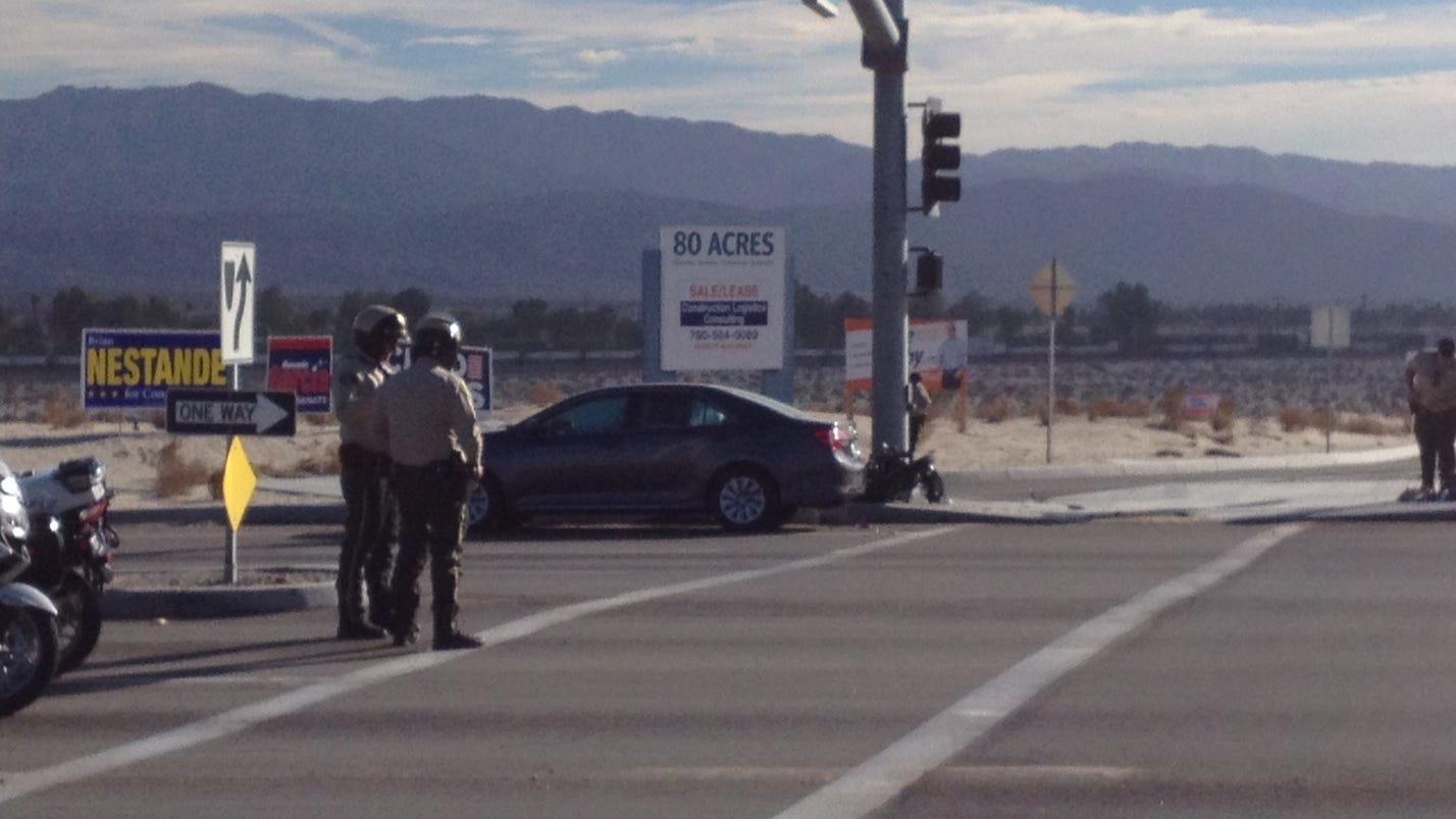 Palm Desert News Car Crash