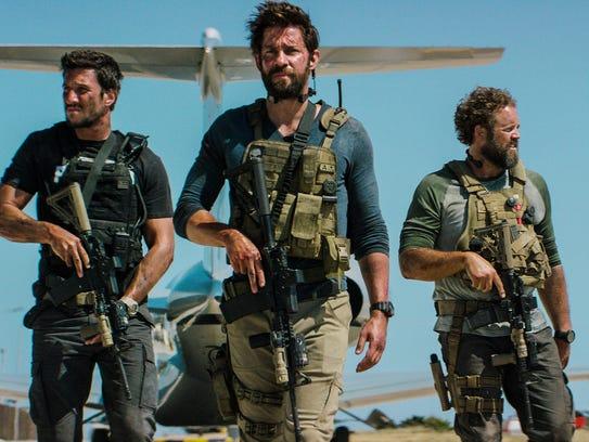"""Pablo Schreiber (from left, as Kris """"Tanto"""" Paronto),"""