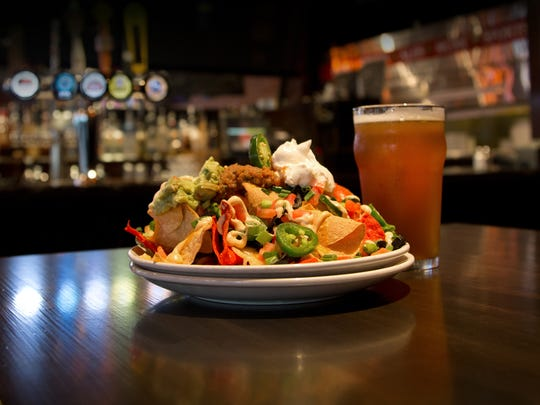Thirsty Lion Gastropub and Grill's ultimate nachos.