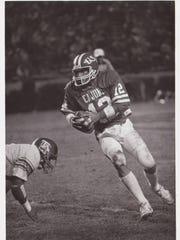 Former UL quarterback Dwight Prudhomme went 0-3-1 vs.