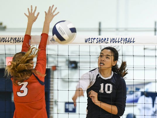 High School Volleyball: Cocoa Beach at West Shore