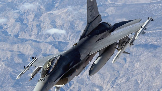 In a published report, a Lockheed executive said the air defense company is planning to move its F-16 fighter jet production to Greenville.