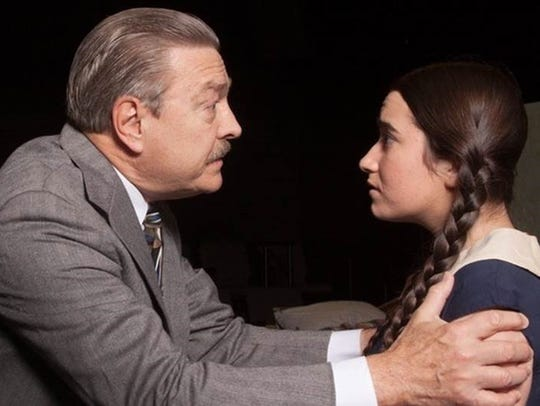 "The Belmont Theatre presents ""The Diary of Anne Frank,"""