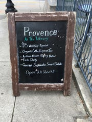 Provence at the Library has a $5 weekday lunch special.