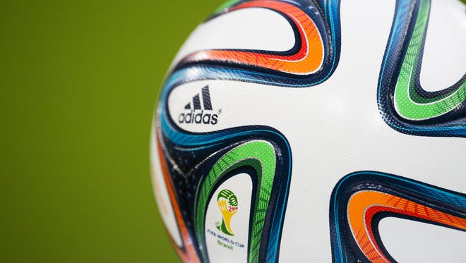 The Brazuca is the official football of the 2014 World Cup.