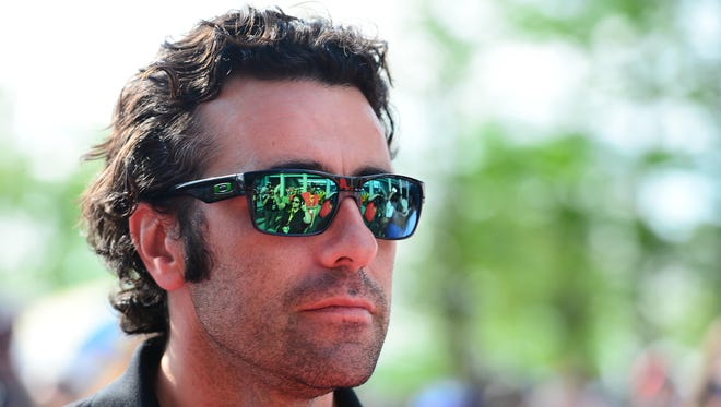 Dario Franchitti was forced to retire after an October 2013 crash on the last lap of the Grand Prix of Houston.