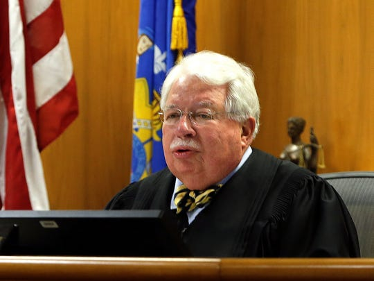 Waukesha County Circuit Judge Michael Bohren gives jury instructions during the start of the Slender Man stabbing trial of Anissa Weier.