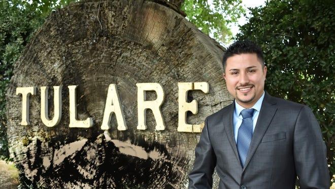 Alex Gutierrez, Tulare council candidate