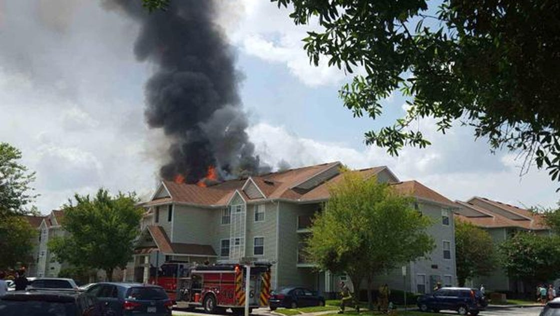 Tivoli Fire Near Ucf Leaves 75 Residents Displaced