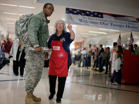 AP Troops Holiday Homecoming