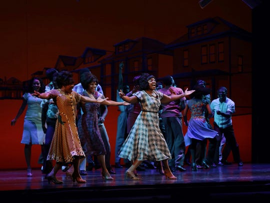 A scene from the Detroit premiere of Berry Gordy Jr.'s