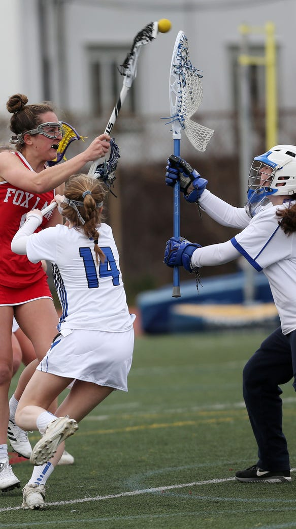 Bronxville defeated Fox Lane 12-7 in girls lacrosse