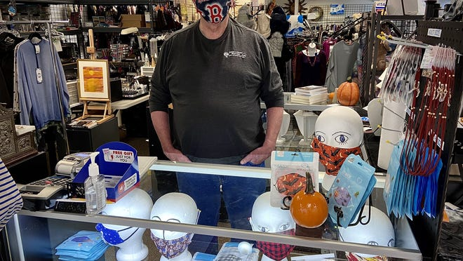 Frank Prescott, proprietor of Annie's Unique Boutique, says the pandemic has hurt his and his wife's Somerset business to the extent that it will close for good on Nov. 30.
