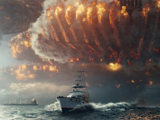 "This image released by Twentieth Century Fox shows a scene from ""Independence Day: Resurgence."""