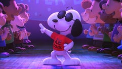 Snoopy steals the show in 'The Peanuts Movie.'