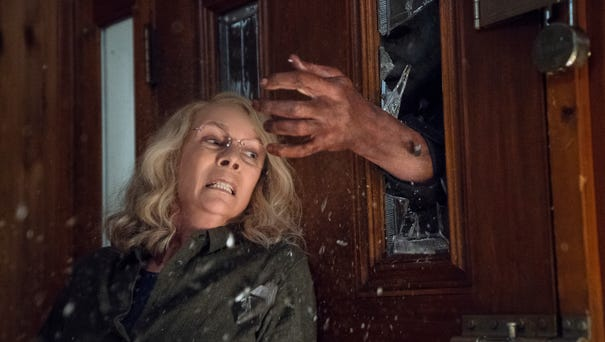 Jamie Lee Curtis reprises her role as Laurie...