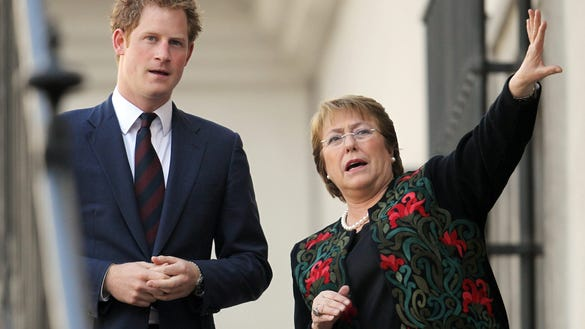 Prince Harry and president