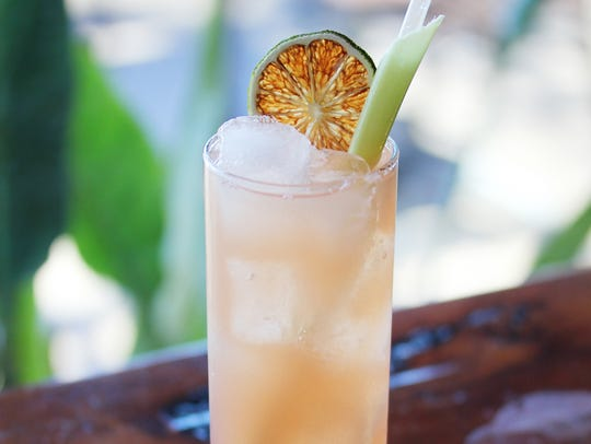 The Grapefruit Lemongrass Soda is a non-alcoholic drink