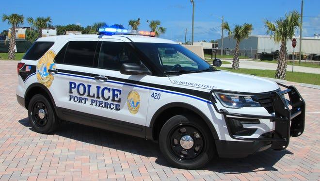 Fort Pierce Police Department patrol SUV