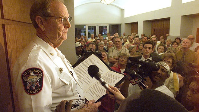 Former Jackson Police Chief Jim Black, who also served as Richland's police chief, has died.