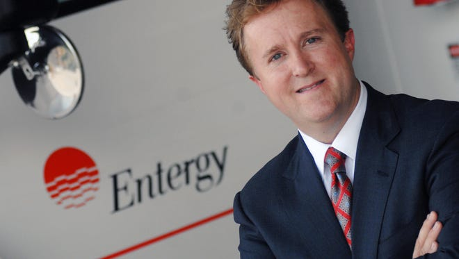 Haley Firsackerly is the new president and CEO of Entergy.