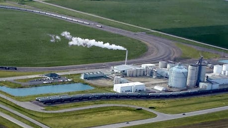 The Granite Falls Energy Ethanol Plant