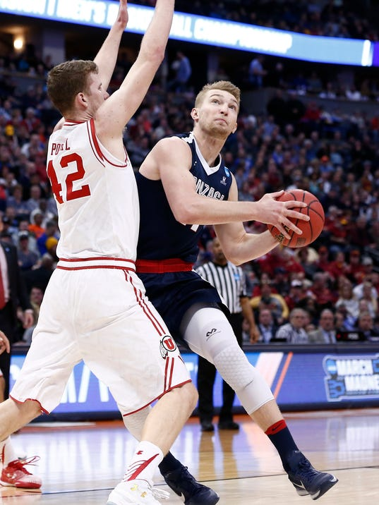NCAA Basketball: NCAA Tournament-Second Round-Utah vs Gonzaga