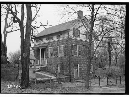 Undated photo of the Naugle House in Fair Lawn.