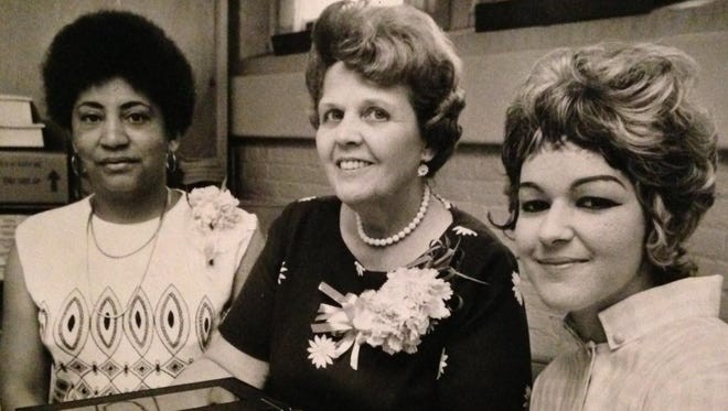 This May 22, 1971 photo was taken during the Warring School's Parent-Teacher Association Teacher Recognition Day luncheon.