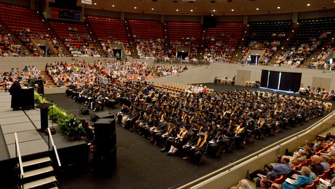Jackson State Community College held its 48th Commencement Exercises Saturday at Oman Arena.