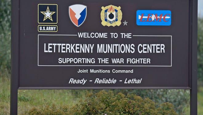 Letterkenny Munitions Center (LEMC) held a tour for invited guests on Wednesday, September 28, 2016.