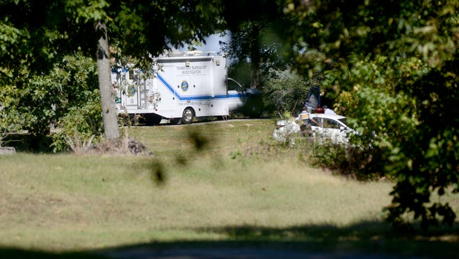 The Tennessee Bureau of Investigation crime scene truck was on scene at 228 Pleasant Hill Road in Gibson County, Thursday afternoon, following a deputy-involved shooting.