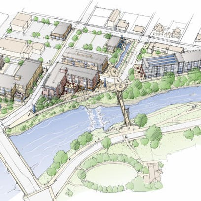 Muncie's White River Canal District proposal included