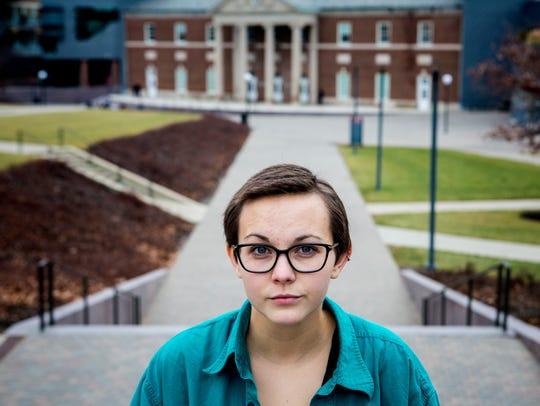Grace Cunningham, a junior at the University of Cincinnati,