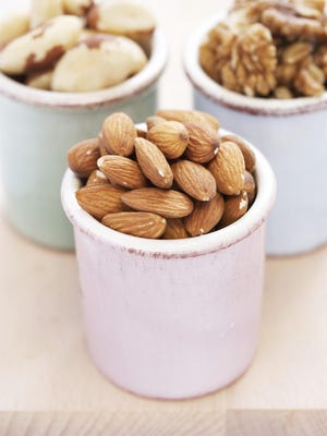 Nuts and seeds are good for brain health. Walnuts are especially beneficial as they contain high levels of Omega-3s.
