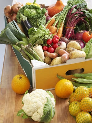 Load up your diet with fresh fruits and vegetables.