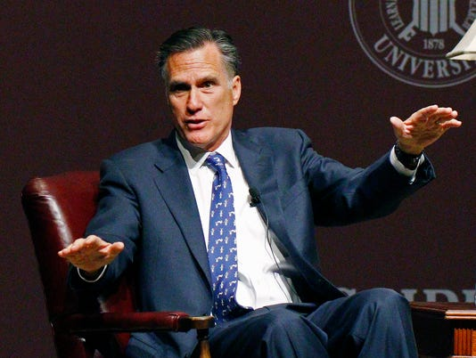 AP GOP 2016 ROMNEY DONORS A ELN FILE USA MS