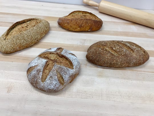 A selection of breads will be available for purchase